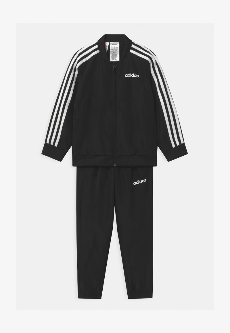 adidas Performance - SET UNISEX - Tracksuit - black/white