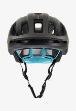 AXION SPIN - Helmet - uranium black/kalkopyrit blue matt