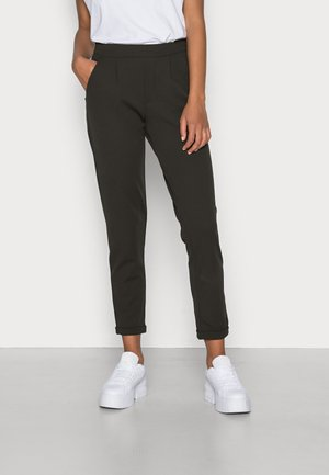 JDYDELICIOUS MIA ANCLE SOLID PANT  - Trousers - peat