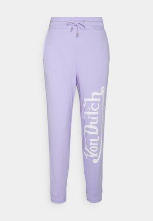 ELLIS - Tracksuit bottoms - lavender