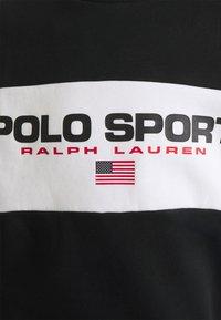 Polo Sport Ralph Lauren - LONG SLEEVE - Sweatshirt - black - 2