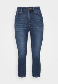 Marks & Spencer London - CROPPED - Jeans Skinny Fit - dark blue denim - 4