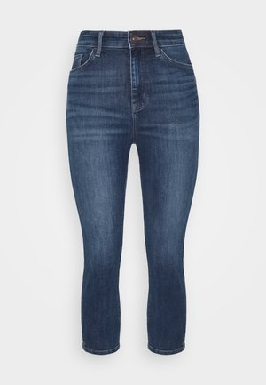 CROPPED - Jeans Skinny Fit - dark blue denim