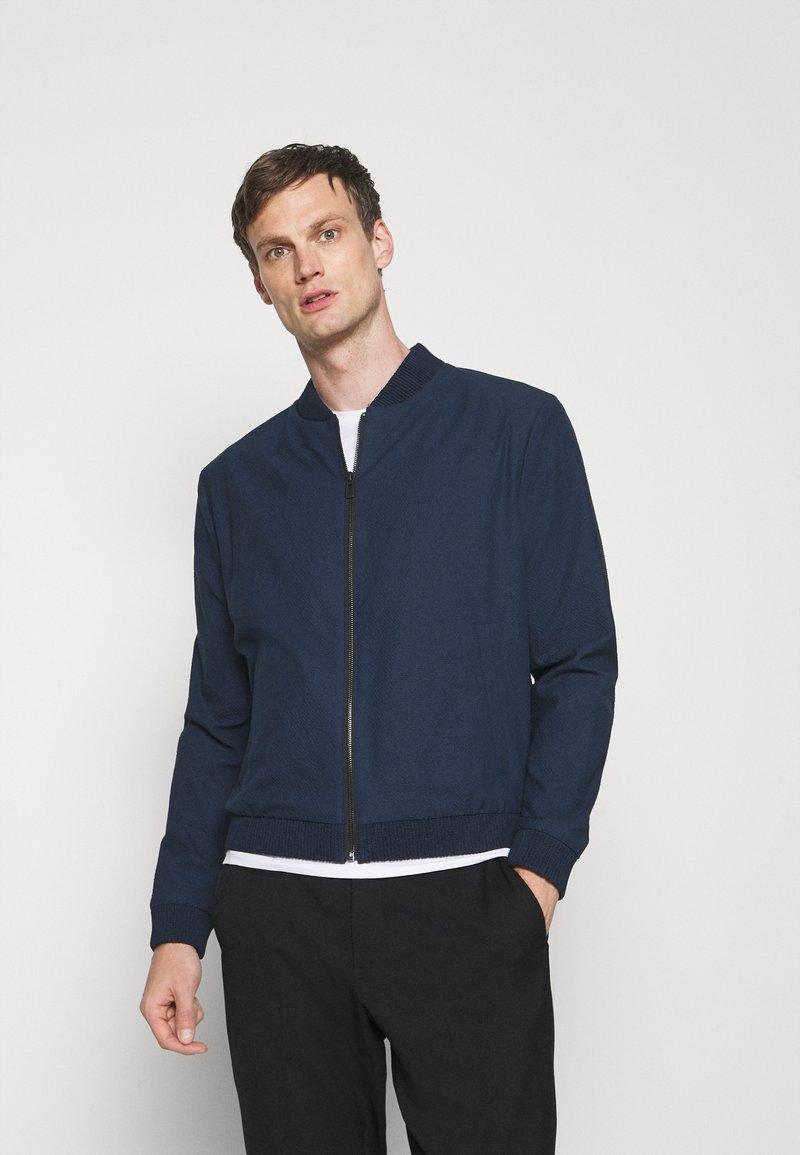 HUGO - Summer jacket - dark blue