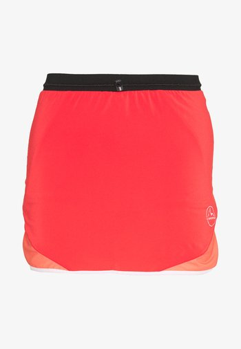 COMET SKIRT - Sports skirt - hibiscus/flamingo