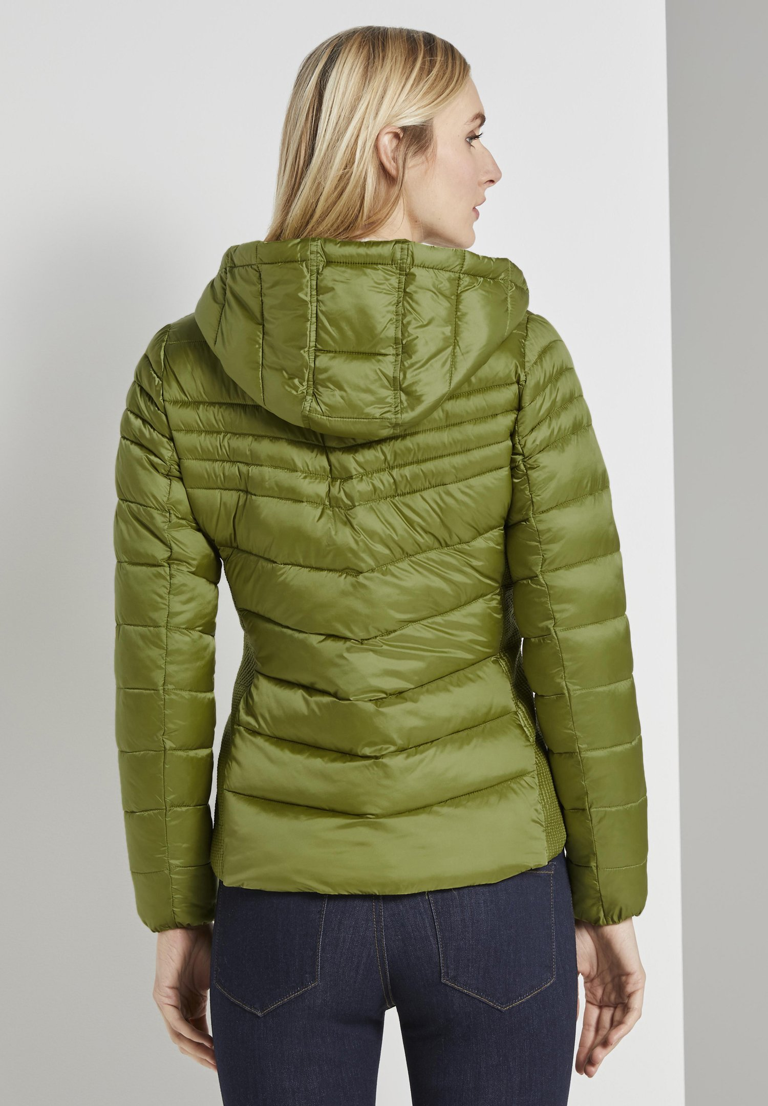 TOM TAILOR Winterjacke  green/grünmeliert