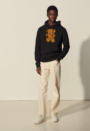 HOODIE TEDDY - Sweater - noir