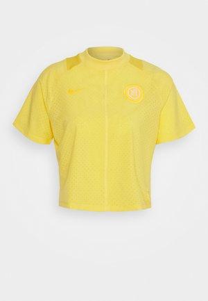 Funkční triko - topaz gold/laser orange