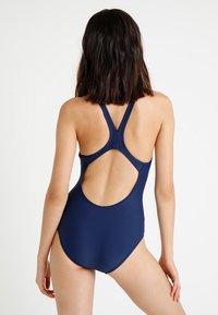 Arena - DYNAMO ONE PIECE - Swimsuit - navy - 2