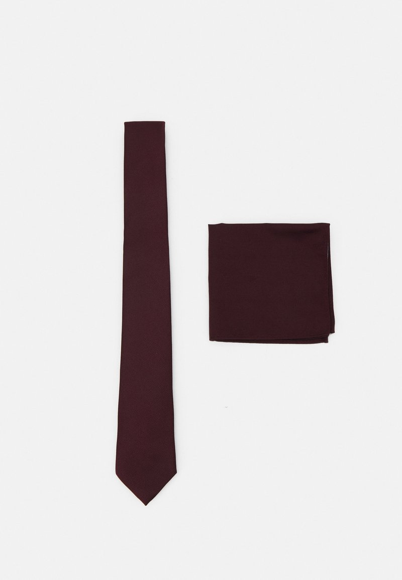 Burton Menswear London - SET - Cravatta - burgundy