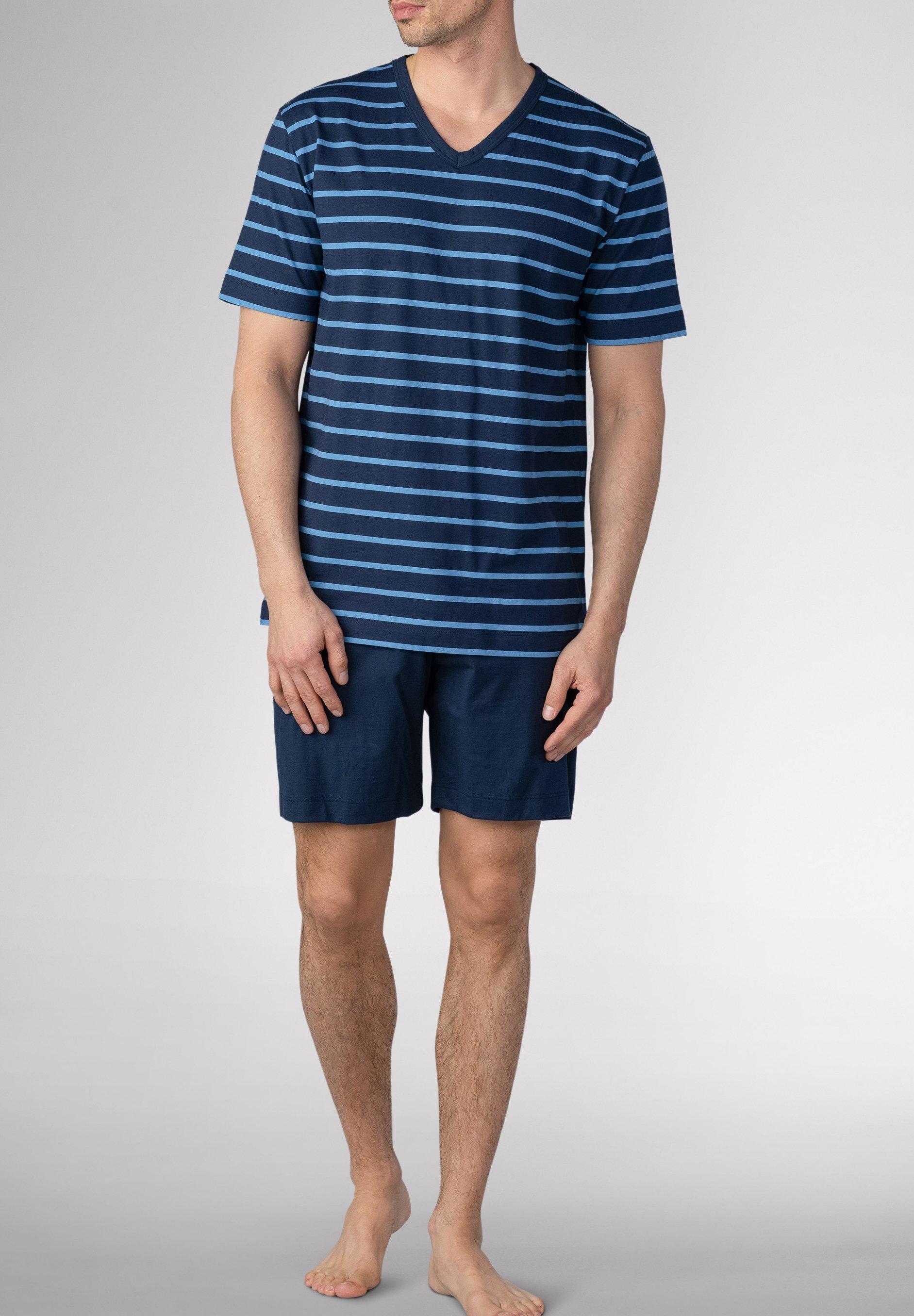 Herren SCHLAFANZUG KURZ - Pyjama