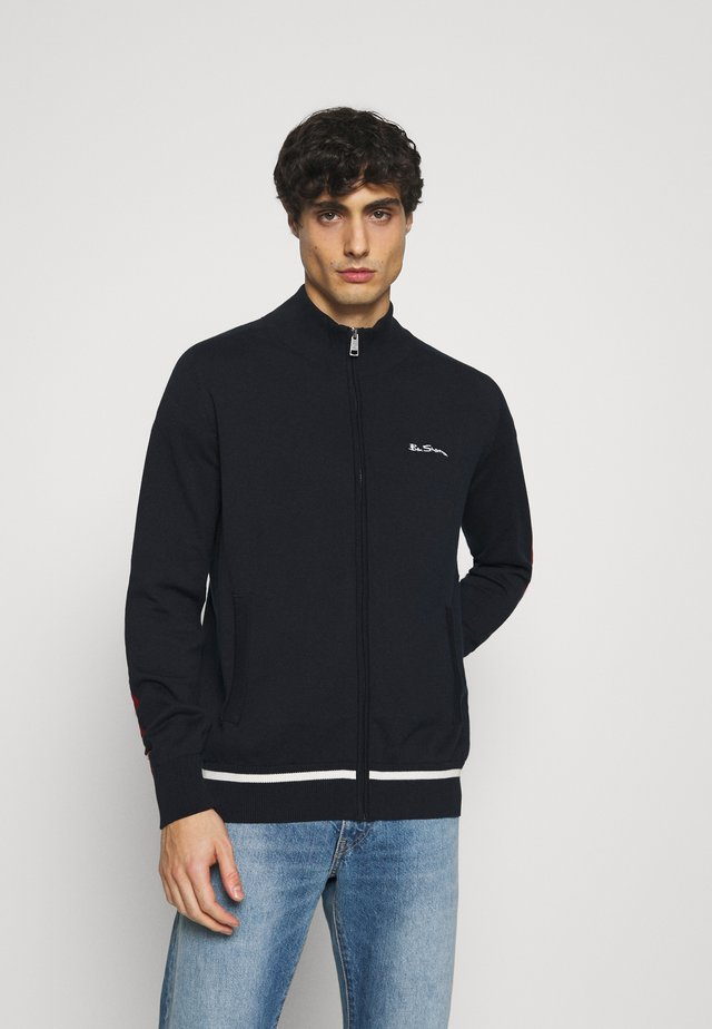 SPORTS ZIP THRU - Training jacket - dark navy