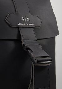Armani Exchange - BACKPACK - Reppu - black - 5