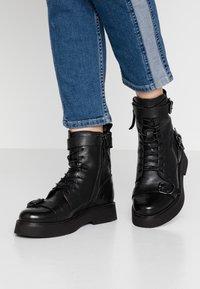 MJUS - Kovbojské/motorkářské boty - nero - 0