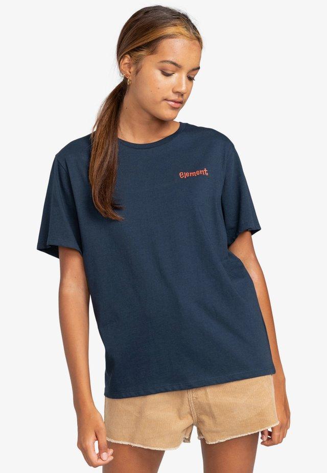 Print T-shirt - eclipse navy