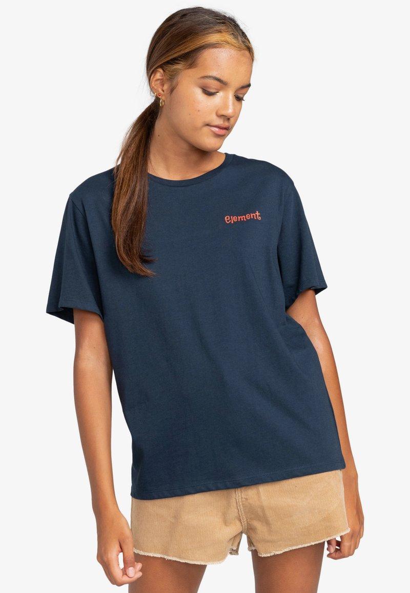 Element - Print T-shirt - eclipse navy