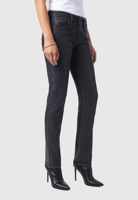 Diesel - D-LYLA - Slim fit jeans - black/dark grey - 4