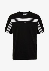 adidas Originals - SPORT COLLECTION SHORT SLEEVE TEE - Camiseta estampada - black/white - 4