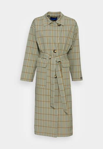 GAIA COAT - Trench - light olive