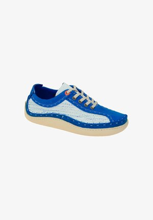 Casual lace-ups - blue / white