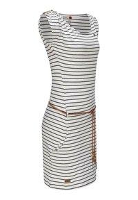 Ragwear - Jersey dress - weiß - 1