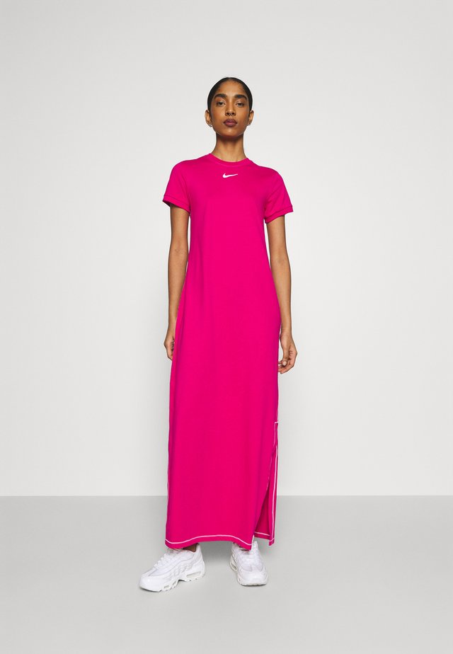 DRESS - Robe longue - fireberry/white