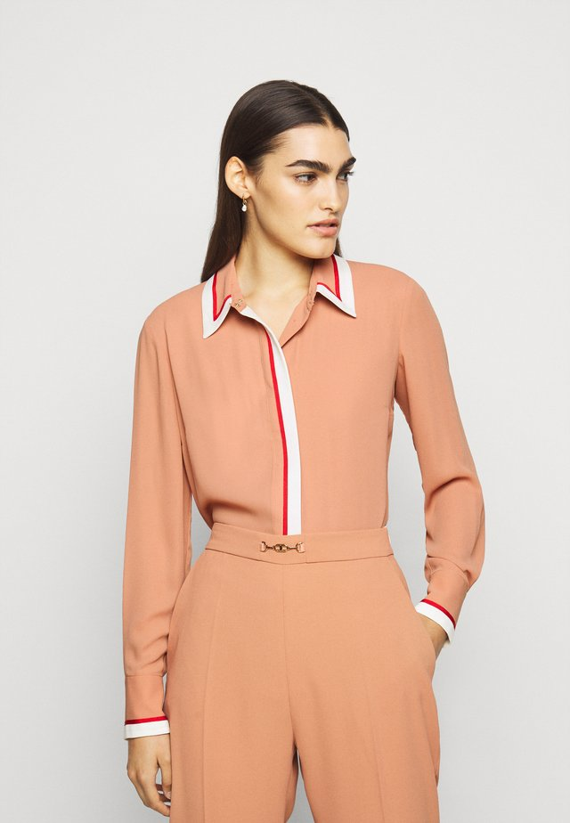 BLOUSE - Blouse - rose gold/burro