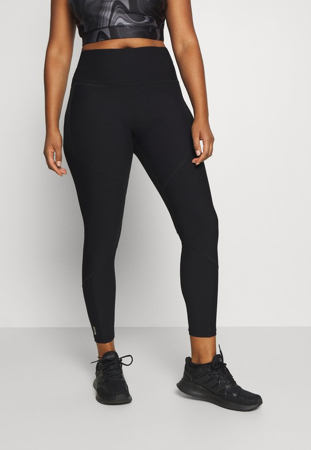 ONPJANA TRAINING TIGHTS CURVY - Legging - black