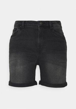 VMJOANA MOM - Denim shorts - black