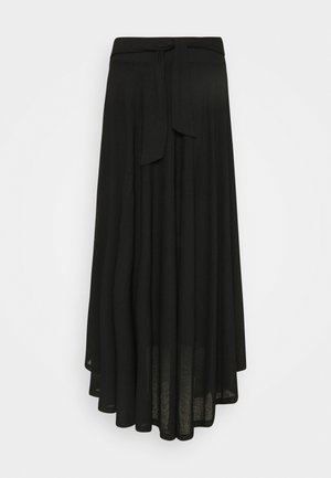 LONG - Maxi skirt - black