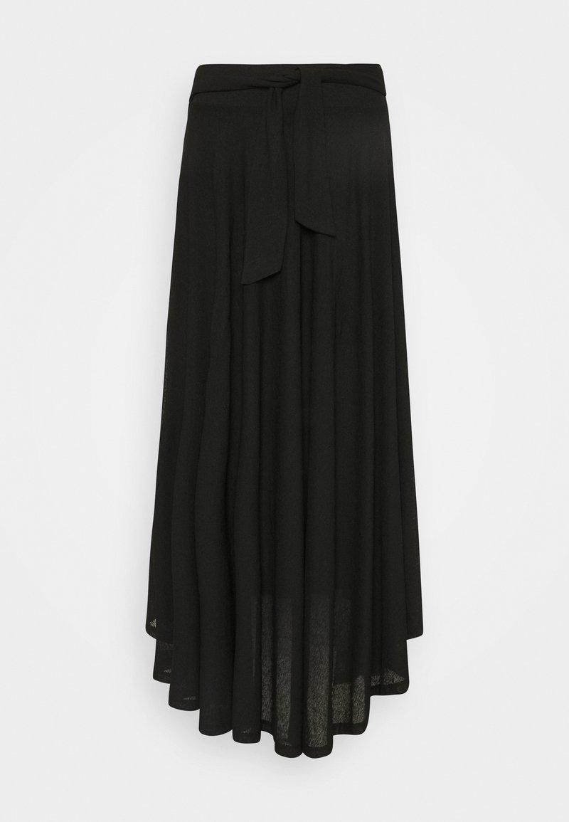 Esprit - LONG - Maxi skirt - black