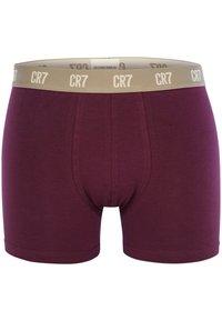 Cristiano Ronaldo CR7 - 6 PACK TRUNKS - Pants - violet/vurquoise/white - 5