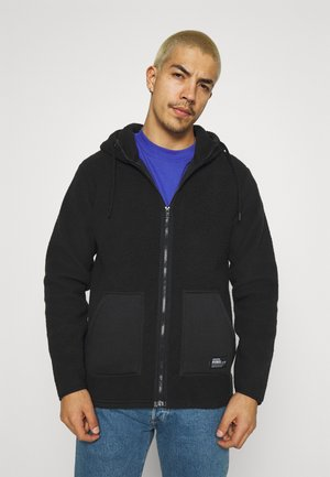 ELMER  - Fleece jacket - black