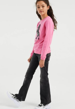 MET EMBROIDERY - Trui - bright pink