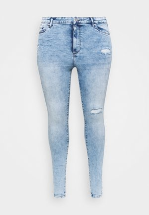 VMSOPHIA - Skinny-Farkut - medium blue denim