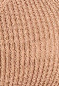 Cotton On Body - GATHERED FRONT GATHERED BRAZILIAN - Bikini - lion brown crinkle - 5