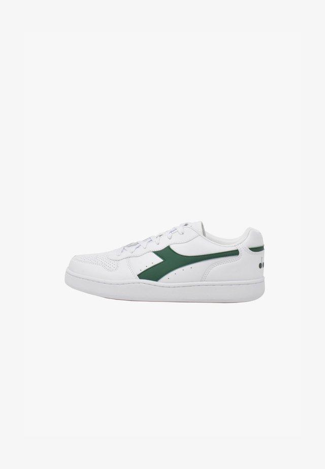 PLAYGROUND - Sneakers basse - white-verdant green