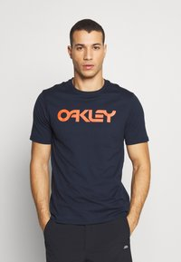 Oakley - MARK II TEE - T-Shirt print - dark blue - 0