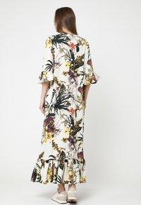 Madam-T - Maxi dress - milchig gelb - 2