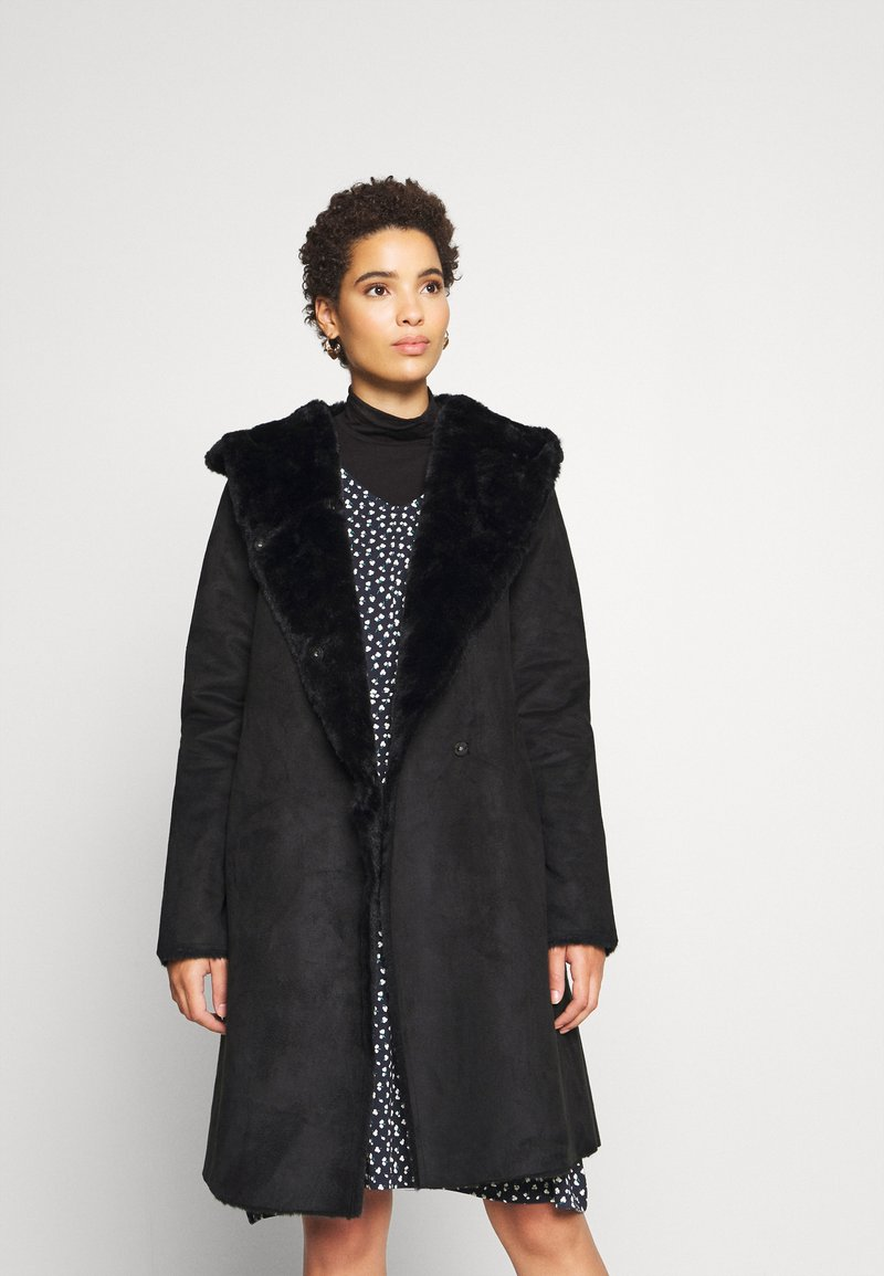 Derhy - SALABAGUE VESTE - Klasický kabát - black