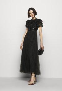 Needle & Thread - SHIRLEY RIBBON BODICE ANKLE DRESS - Společenské šaty - ballet black - 1