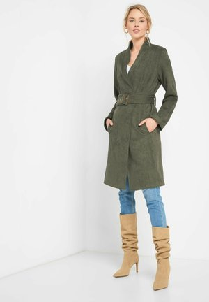Classic coat - dunkles khaki