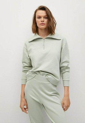 MIT FUNNELNECK - Fleecetröja - khaki