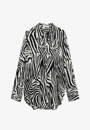 ZEBRA - Button-down blouse - blanc