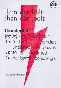 Neil Barrett - THUNDERBOLT DEFINITION SERIES TANK - Top - white/red/black - 2