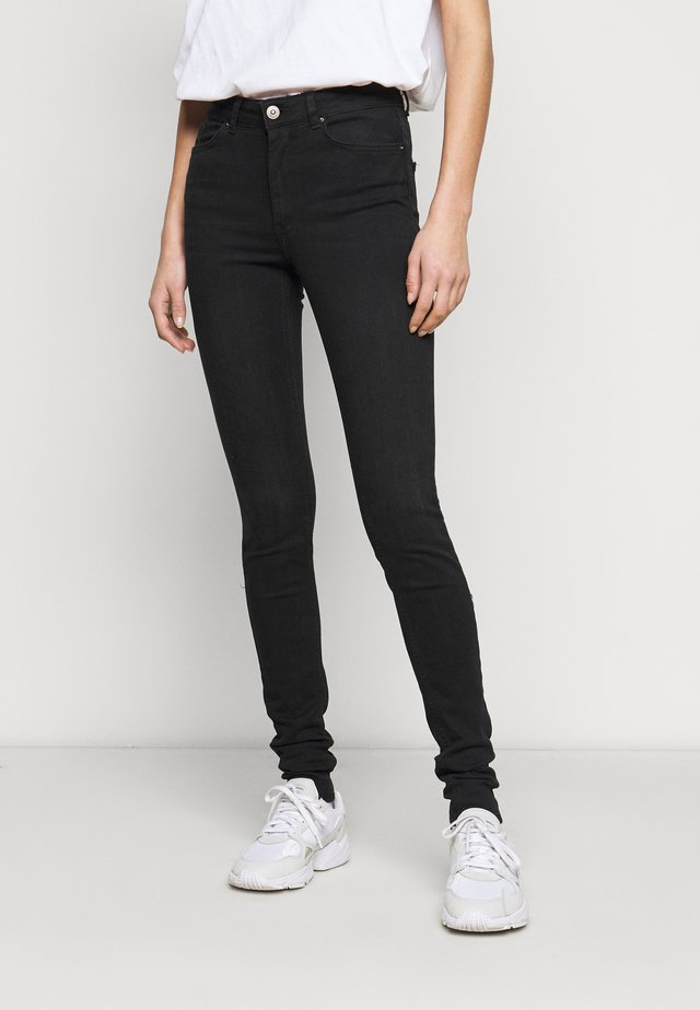 PCDELLY TALL - Jeans Skinny Fit - black