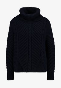 Superdry - TORI CABLE CAPE - Jumper - rinse navy - 3