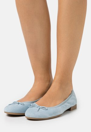 Ballet pumps - light blue