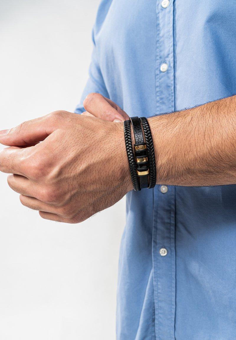 SERASAR - Bracelet - schwarz gold