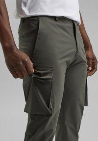 Esprit Collection - Cargo trousers - dark khaki - 4